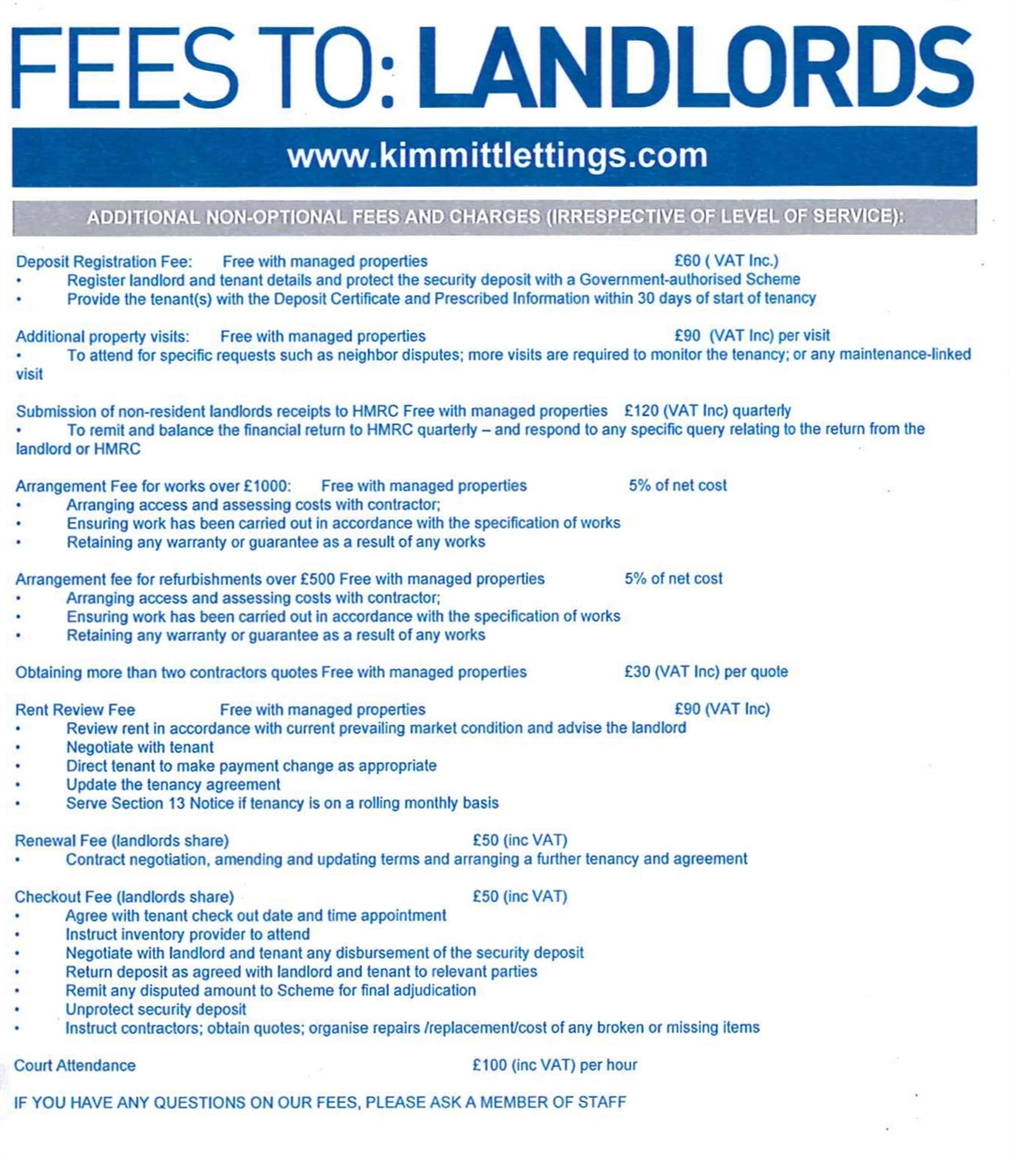 Kimmitt lettings fees need specialist lettings advice call us on 0191 512 9848 xflitez Images