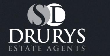 Drurys Estate Agents Website