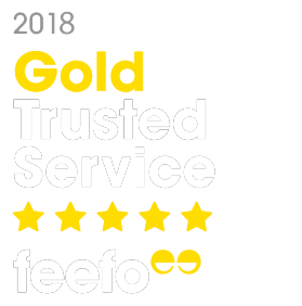 Lamborn & Hill Sittingbourne Estate Agents received the Gold trust service award from feefo in 2018